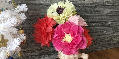 Crepe  Paper Flower 1.5hr Workshop - Dec 11 tickets
