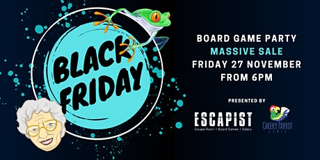 Black Friday Board Game Party tickets