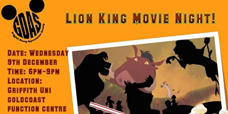 Lion King Movie Night tickets