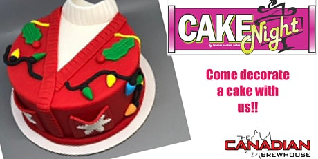 CakeNight - Ugly Christmas Sweater Cake tickets