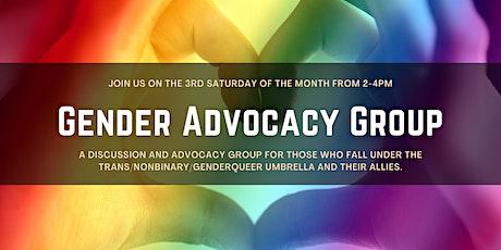 Gender Advocacy Group ONLINE tickets