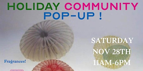 Holiday Community Pop-Up tickets