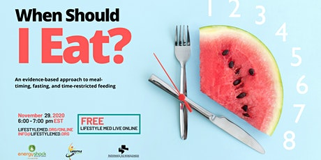 When Should I Eat? tickets