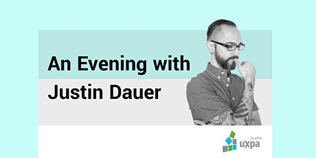 An Evening with Justin Dauer tickets