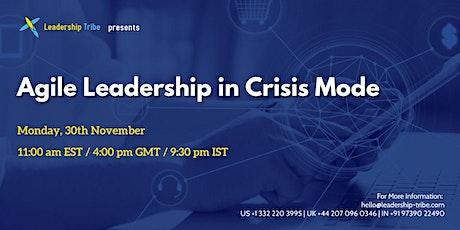 Agile Leadership in Crisis Mode tickets