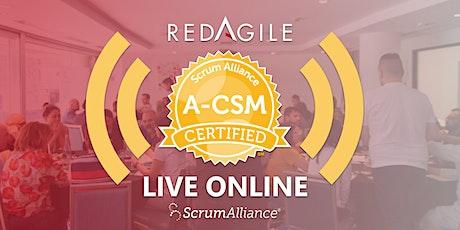 ADVANCED CERTIFIED SCRUM MASTER®(A-CSM®)14-15 JAN  Australian Course Online tickets