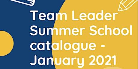 Team Leader Summer School - Leading Change tickets