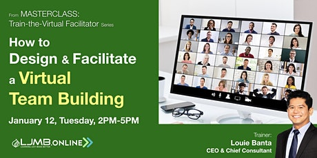 How to Design & Facilitate a Virtual Team Building Tickets