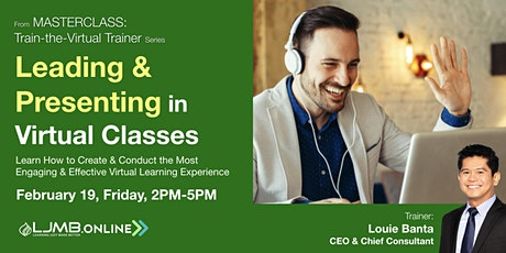 Leading & Presenting in Virtual Classes (2nd Run) Tickets