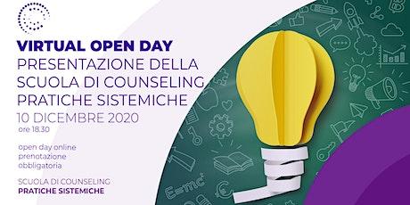 Open day: PRESENTAZIONE DELLA SCUOLA DI COUNSELING biglietti