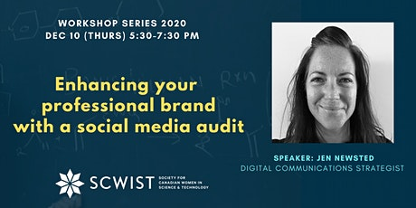 Enhancing your professional brand with a social media audit tickets