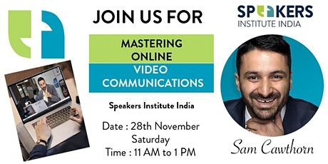 INDIA: Mastering Online Video Communication for Influence & Authority tickets