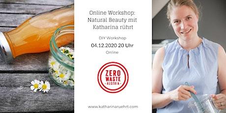 Online Workshop: Natural Beauty Tickets