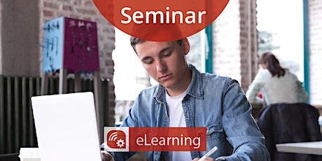 Seminar: Digitale Lösungen für Bildung im Betrieb (Teil 1) Tickets