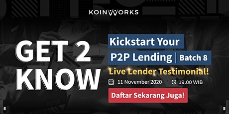 Get2Know: Kickstart Your P2P Lending | Batch 9 tickets