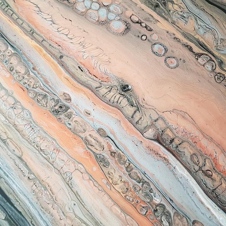 Fluid Art Experience - Sandwich Pour (Paint and Sip) image