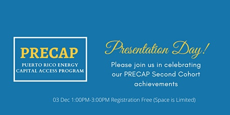 PRECAP Presentation Day Session 2 tickets