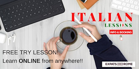 Italian lessons Online | Try it FREE (All Levels)
