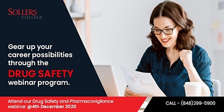 Explore many opportunities in coming days with Drug Safety Webinar tickets