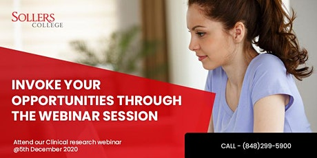 Let's plan for next year!!Clinical Research Webinar is here to help you. tickets