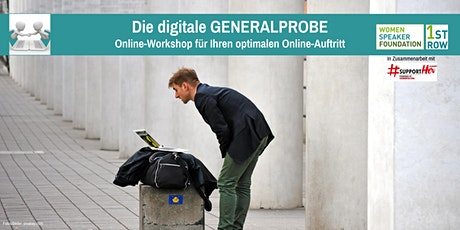 Präsentationstraining: Die digitale GENERALPROBE Tickets