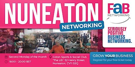 FaB Networking with FindBiz Nuneaton tickets