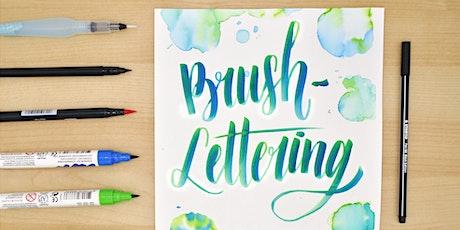 Brush-Lettering und wie es funktioniert! - St. Pölten Tickets