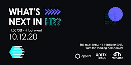 What's next in HR? tickets