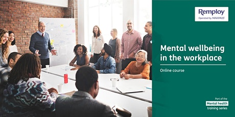 Managing Mental Health at Work Online Course tickets