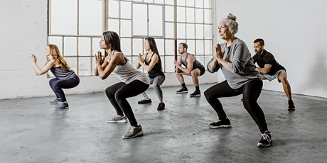 BODY WEIGHT STRENGTH CLASS - IN PERSON (GEORGE PLACE) tickets