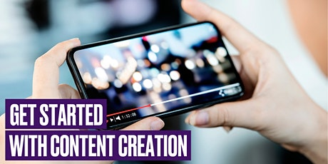 Get Started with Content Creation tickets