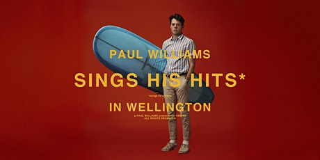Paul Williams - Live in Wellington tickets