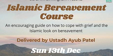 Islamic Bereavement Course tickets