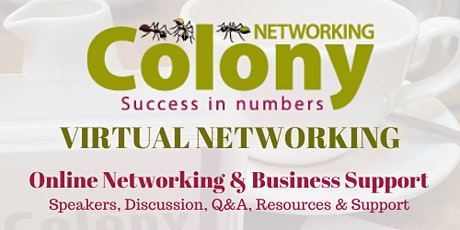 Colony Networking Christmas Cheer December 2020 tickets