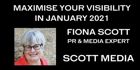 MAXIMISE YOUR VISIBILITY IN JANUARY tickets