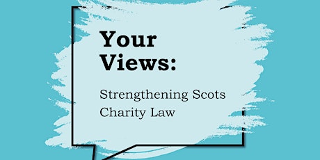 Scots Charity Law Engagement: Transparency & Accountability tickets
