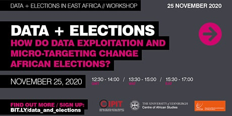 Data + Elections Workshop tickets