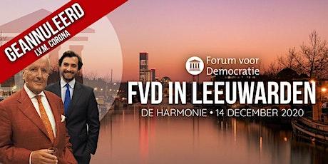 Forum voor Democratie in Leeuwarden tickets