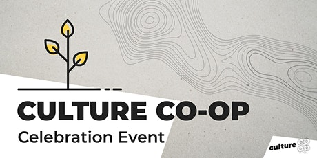 Culture Co-op 2020 Celebration Event tickets