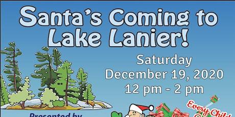 Santas  To Lake Lanier tickets