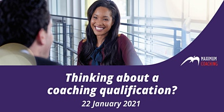 Thinking about a coaching qualification? (22 January 2021) tickets