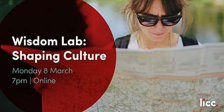 Wisdom Lab: Shaping Culture tickets