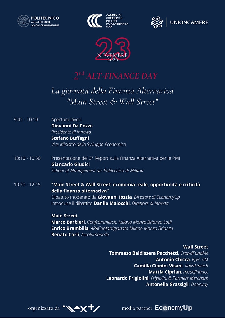 Immagine 2° Alt-Finance Day