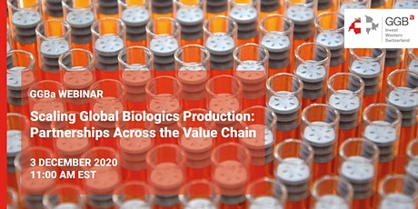 Scaling Global Biologics Production: Partnerships Across the Value Chain tickets