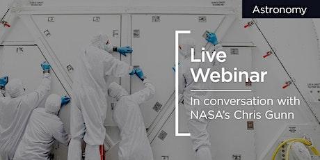 Live Webinar   Hasselblad   with NASA Photographer Chris Gunn tickets