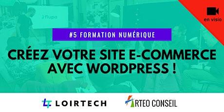 Créez votre site e-commerce avec Wordpress ! billets