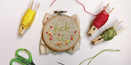 Virtual Workshop: Embroidery 101 tickets