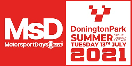 MotorsportDays LIVE SUMMER JULY 2021 tickets