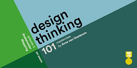 Design Thinking 101 - Stakeholder Mapping  (American & European Time Zones) tickets
