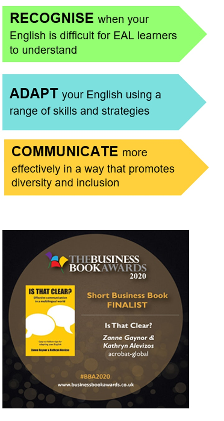 COMMUNICATION SKILLS FOR EAL SPECIALIST TEACHERS AND SUPPORT STAFF image